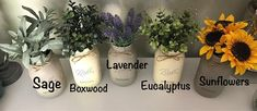 This listing is for a Set of 2 Hanging Metal Wall Planters! Lavender is one of the hot trending colors for the new year! These wall Planters make such a cute pair for your farmhouse decor! The greenery in the zinc metal buckets really set this off and can be paired with the lavender