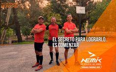 Comienza hoy y descubre todo lo que puedes lograr. #SeAtleta #SeÚnico #SeNemik https://www.nemik.mx/