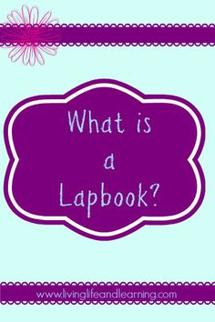 What is a Lapbook? #Homeschool