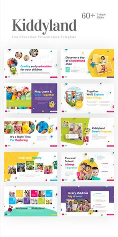 Free Powerpoint Presentations, Powerpoint Design Templates, Ppt Template, Templates Free, Kids Graphic Design, Web Design, Layout Design, Design Ideas, Presentation Layout