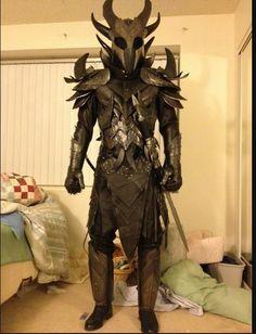 Daedric armour. #Skyrim...wow