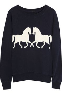 You don't have to be an equestrian to appreciate this @J.Crew Horsing Around Sweater ($65).