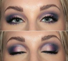 Fancy / purple smokey shadow http://media-cache6.pinterest.com/upload/183029172326231971_aKEUDUIc_f.jpg yellowsweater2 hair nails make up