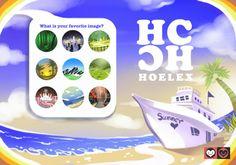★【HC CG動漫插畫】Painter繪圖 創意產業設計藍天白雲+海邊+船屋插畫案  我想我應該去一趟海邊走走.......