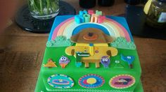 Hey Duggee Cake Little Man Birthday, Baby Birthday, 1st Birthday Parties, Birthday Celebration, Birthday Ideas, Cake Models, Cookie Cake Birthday, Birthdays, Lily