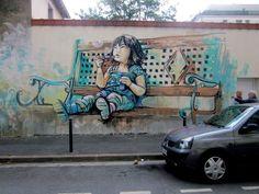 Renklim Blog – Burada renkli bir şeyler var! – İtalyan illüstratör Alice ile Sokak Sanatı