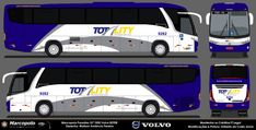 Totality Transportes 9282 – Ônibus Paraibanos Desenhos Volvo, Onibus Marcopolo, Paper Toys, Paper Crafts, Bus Games, Luxury Bus, Vehicles, Design, Cardboard Car