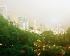 Hong Kong in panorame ireale
