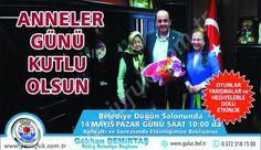 Gülüç Belediye Başkanı Gökhan Demirtaş anneleri unutmadı..
