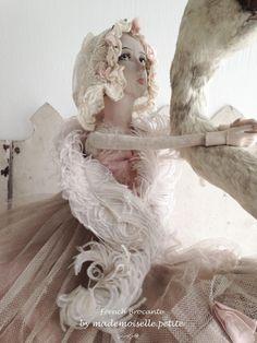 Antiker Feder Boa Schal für Puppe, Teddy-Bär, Schneiderpuppe, Frankreich Shabby in Antiquitäten & Kunst, Kleidung & Accessoires, Accessoires | eBay