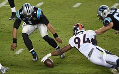 A few Broncos players were questioning Cam Newton's Super Bowl effort.