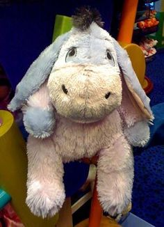 Disney Baby Eeyore Long Pile 17 Inch Plush Doll New By 26 76 His Is A Soft Fuzzy About Inches Brand