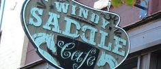 """Breakfast or Lunch. Golden CO Cafe - Windy Saddle Cafe. A coffee shop and café just a couple of blocks from our workshop site. I call it the """"Mommy Coffee Shop"""" because there's a play area for kids in the back."""
