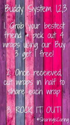 Buy 3 get 1 free, split the deal with a friend Shop at Ladisa.jamberry.com