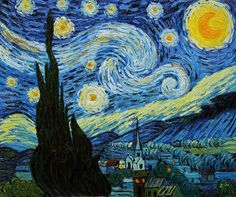 Vincent Van Gogh's Starry Night will be the model for a 9 foot by 10 foot stained glass mural being constructed in a live art event during Harborfest July 26-29. Description from oswegocountytoday.com. I searched for this on bing.com/images