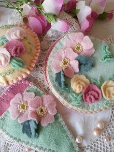 Felt kits from The Maggie Gee Needlework Studio on Facebook