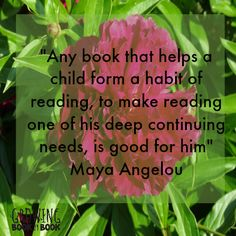One of my favorite Maya Angelou quotes!