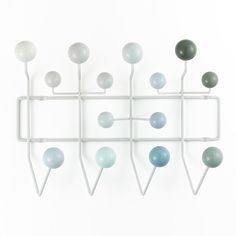 To celebrate Ray Eames Birthday. Eames 'Hang It All' coat rack released in new colours through Vitra. Charles Eames, Design Shop, Rack Design, Vitra Design Museum, Eames Hang It All, Garderobe Design, Armoire Design, Milan Furniture, School Furniture