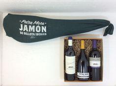 jamón ibérico con una selección de los mejore vinos de Pazo Señoráns