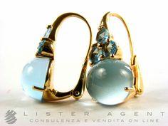 POMELLATO earrings Luna blue topazes | Luxify | Luxury Within Reach