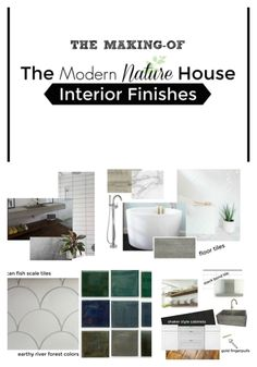 The Making-of The Modern Nature House. A quick peek at interior finishes.