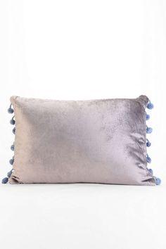 Plum & Bow Long Velvet Pillow