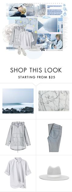 """I'm singing my blues..."" by doodlelou ❤ liked on Polyvore featuring CHI, Crate and Barrel, T By Alexander Wang, James Jeans, Steven Alan, Janessa Leone, adidas, men's fashion and menswear"