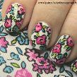 Espadrilles Floral Nails
