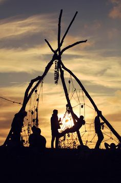 Teepee native American dream catcher Indian Feathers Soul dancing Spirit animal Spiritual Nature