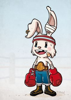 Rabbit by Nomad , via Behance