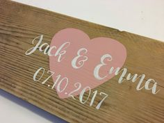 A personal favourite from my Etsy shop https://www.etsy.com/uk/listing/560828211/wedding-guest-book-blush-wedding-rustic