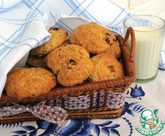 """Постное овсяное печенье """"Здоровье"""" - кулинарный рецепт"""