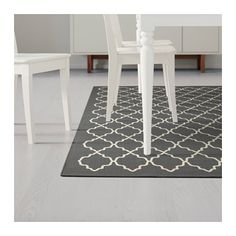 HOVSLUND Rug, low pile IKEA Suitable for use underneath your dining table, as the flat-woven surface makes it easy to pull out chairs and clean.