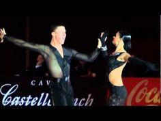 Andrey Gusev & Elizaveta Cherevichnaya, Salou 2011, GrandSlam Latin solo Samba