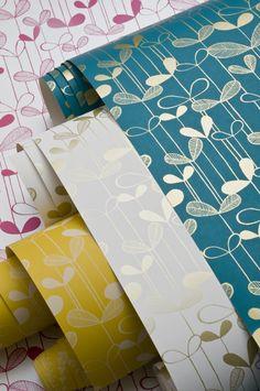 MISS PRINT Saplings wallpaper mix