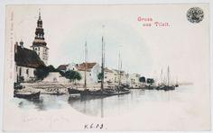 TILSIT+1903+OSTPREUßEN+Sowetsk+Tilžė+KÖNIGSBERG+KALININGRAD
