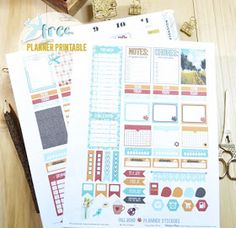Fall themed planner stickers printable for the Classic Happy Planner by Mambi for use with popular digital cutters. Free for personal use only. Road Planner, Fitness Planner, Workout Planner, Family Planner, Printable Planner Stickers, Free Printables, Mini Happy Planner, Freebies, Planner Decorating