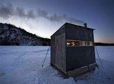 Maine ice fishing (photographer unknown)