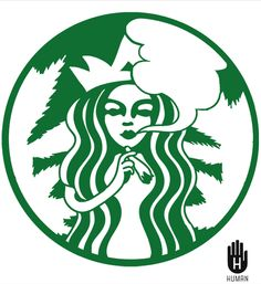 Weed and Starbucks  #cannabis #marijuana