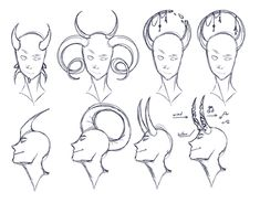 Not Burdensome Tips How To Draw Demon Horns Redesigned All The Demon Oc's From Nightfire Demon Drawings, Creature Drawings, Fantasy Drawings, Art Drawings, Drawing Expressions, Creature Concept Art, Art Poses, Drawing Reference Poses, Drawing Base