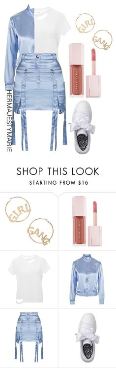 """Untitled #57"" by hermajestymarie on Polyvore featuring BP., Puma, Anine Bing and Topshop"