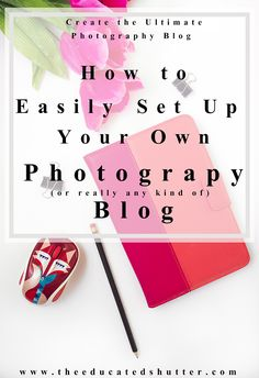 You know why you need a Photography Blog for your business but you aren't sure how to get one set up. I've listed all the tools and tricks that I used for the creation of my blog. It's really quite simple! Check out this post to see what tools will help you get one more step closer to setting up a blog for your photography business (or any business really)! | The Educated Shutter