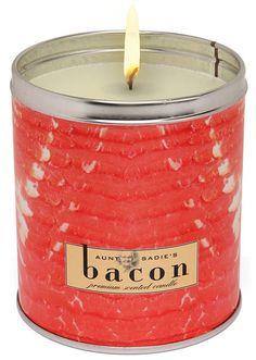 bacon candle.
