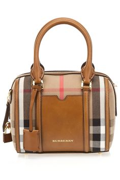Burberry Small Alchester Bowling Bag in Brown Ochre - Beyond the Rack