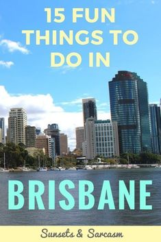 Things to do in Brisbane Australia. Discover Brisbane cafes, South Bank parklands, nightlife, free tours & more in the capital of Queensland. #Brisbane #Queensland #Australia #traveldestinations