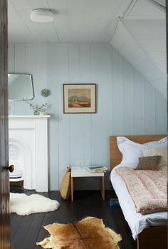 Une chambre aux couleurs douces