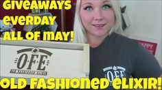 Old Fashion Elixir eLiquid - Giveaways Every Day All of May! | TiaVapes