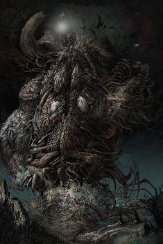 The Dunwich Horror by Carpet-Crawler on DeviantArt
