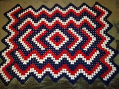 Crochet Drop in the Pond blanket. This was fun to crochet.