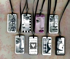 Newest Domino Art Necklace | Flickr - Photo Sharing!